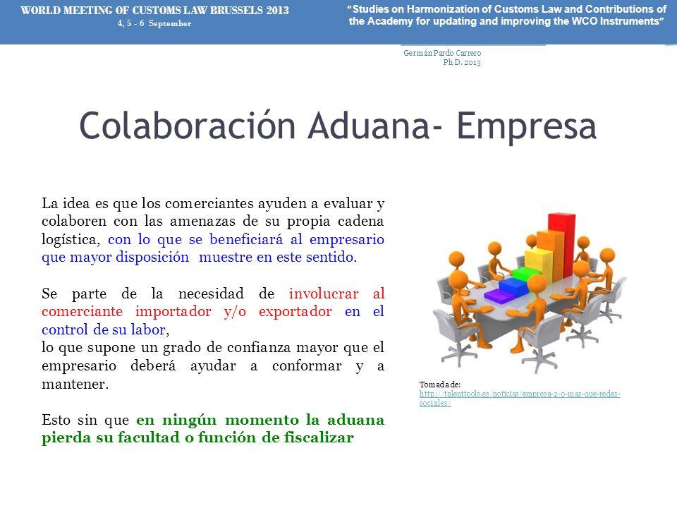 Colaboración Aduana- Empresa
