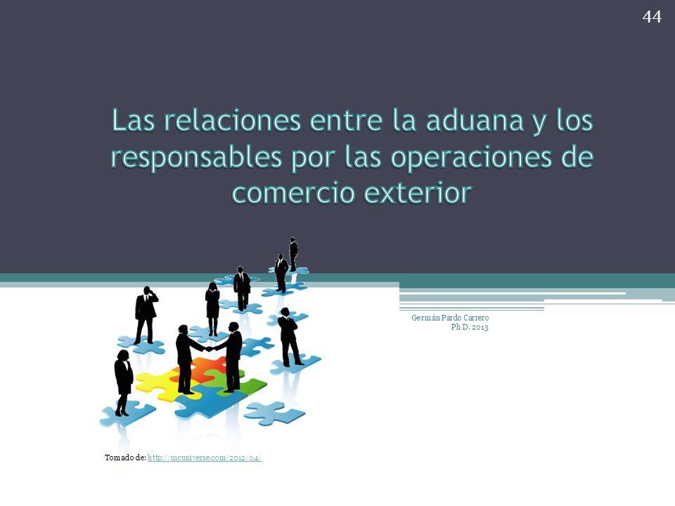 Las relaciones entre la aduana y los responsables por las operaciones de comercio exterior