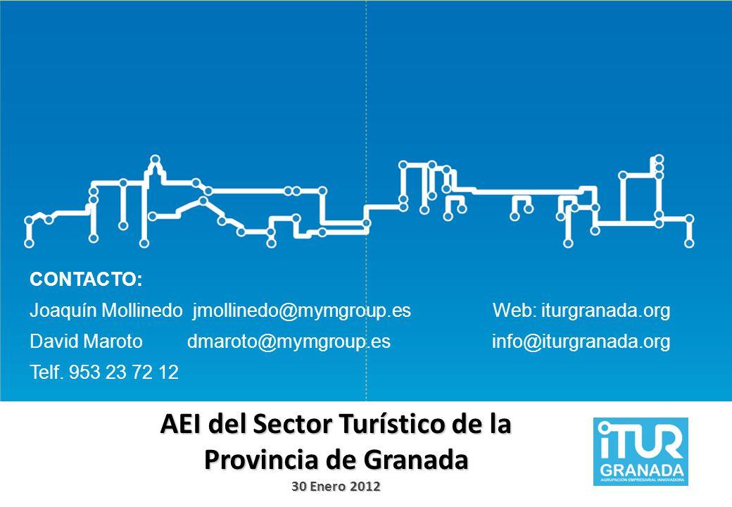 AEI del Sector Turístico de la Provincia de Granada