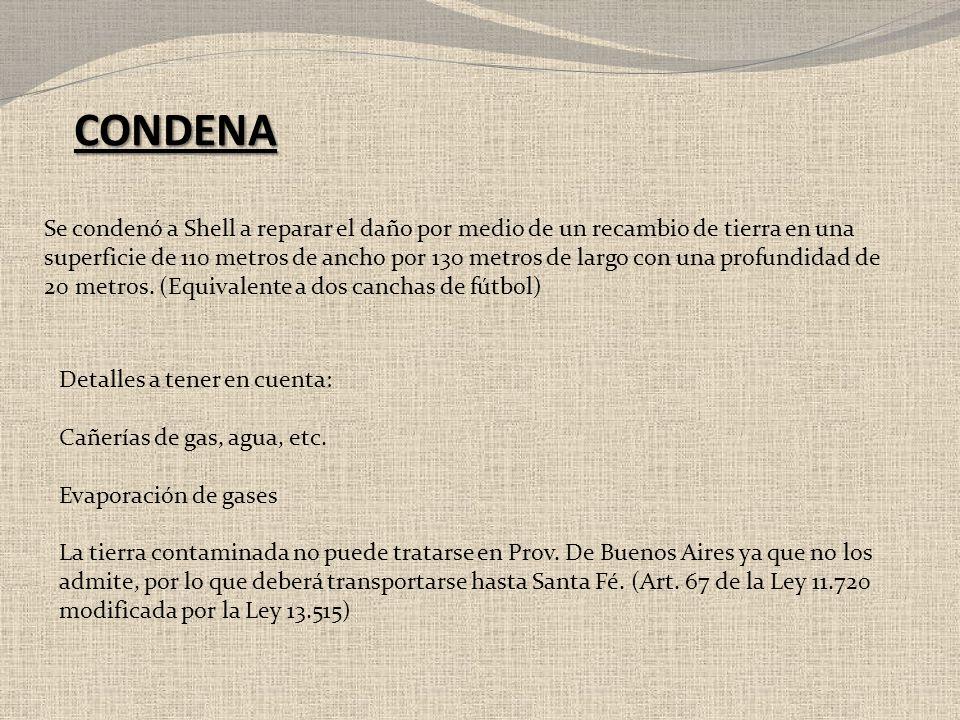 CONDENA