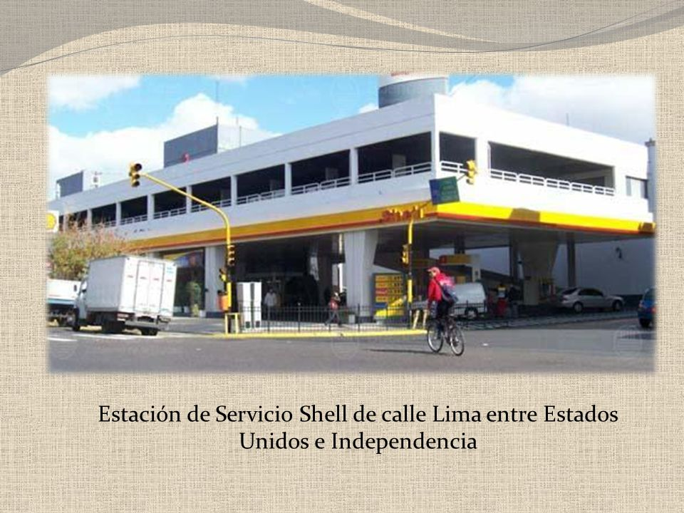 Estación de Servicio Shell de calle Lima entre Estados