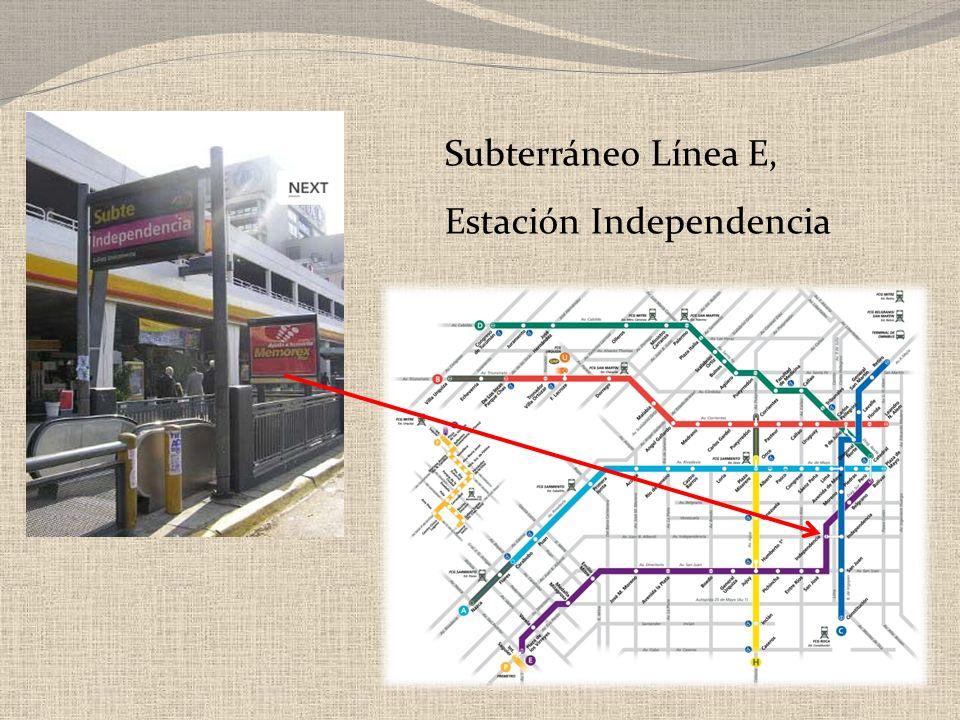 Subterráneo Línea E, Estación Independencia
