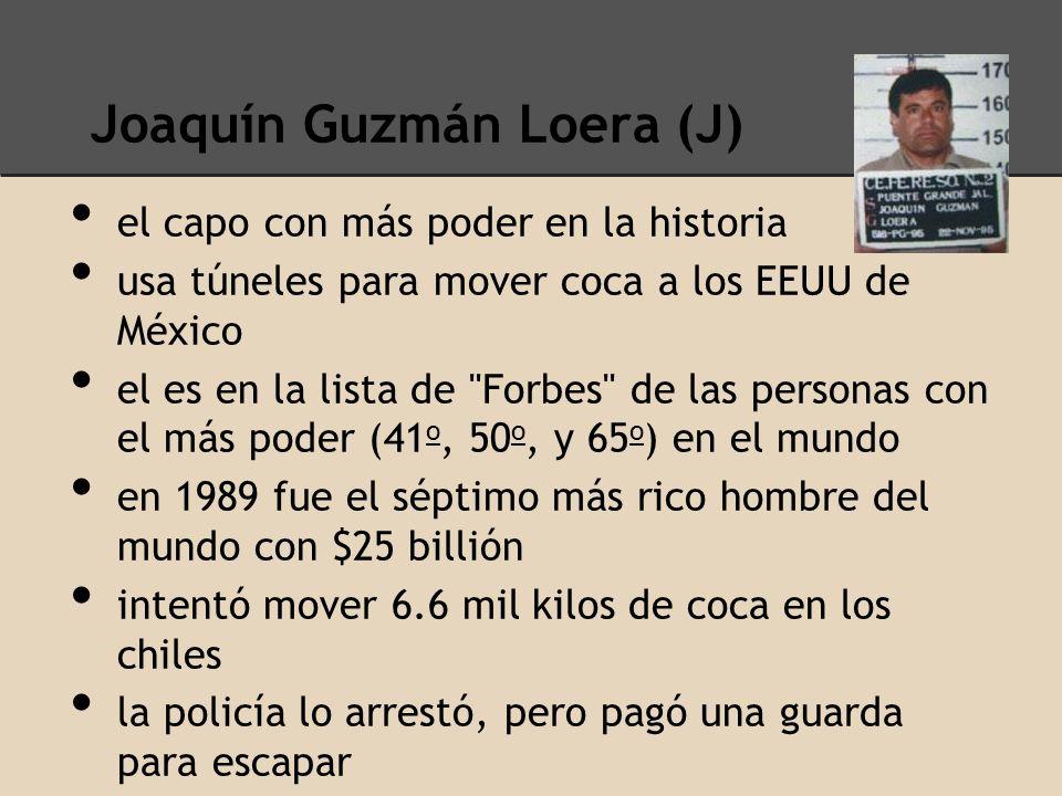 Joaquín Guzmán Loera (J)