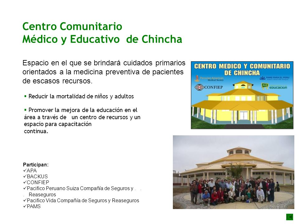 Médico y Educativo de Chincha