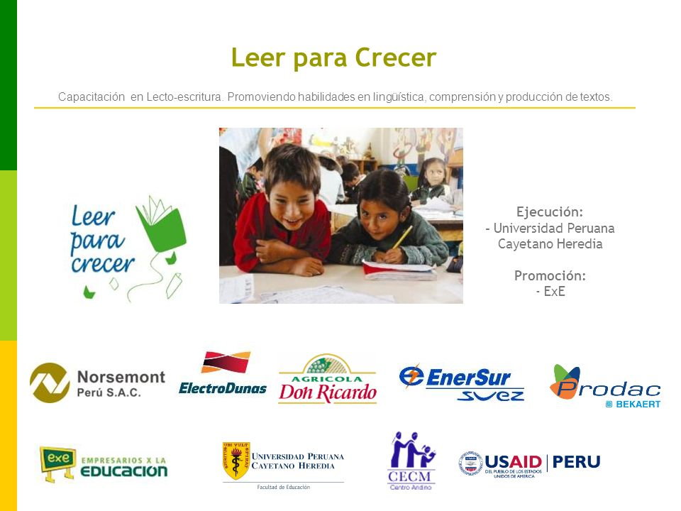 - Universidad Peruana Cayetano Heredia