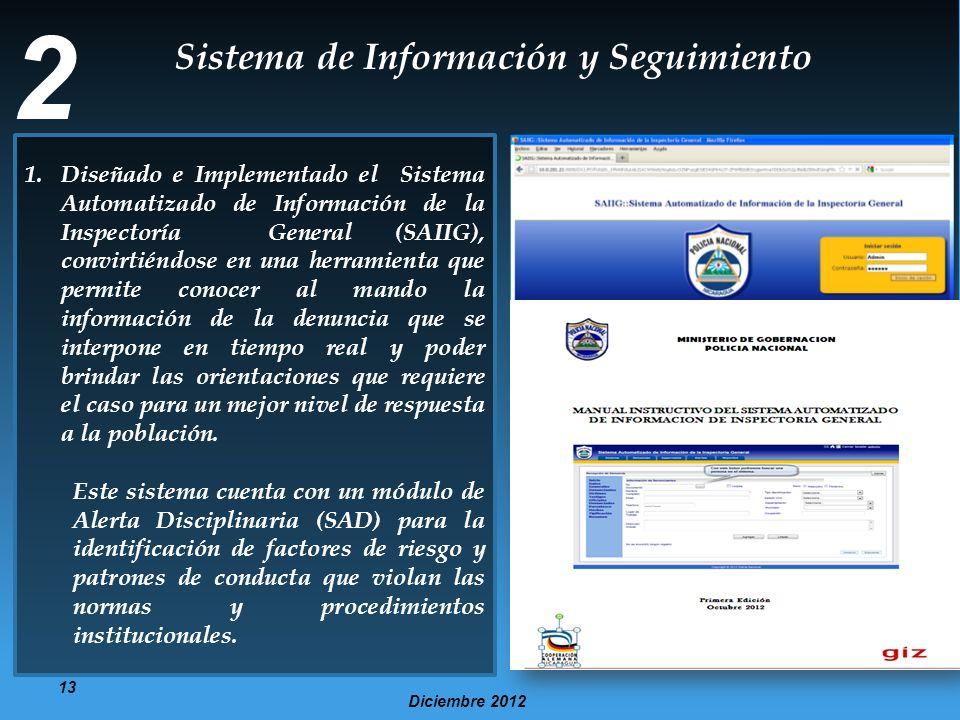 2 Sistema de Información y Seguimiento