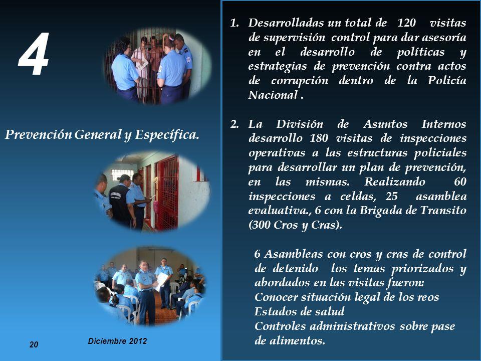 4 Prevención General y Específica.