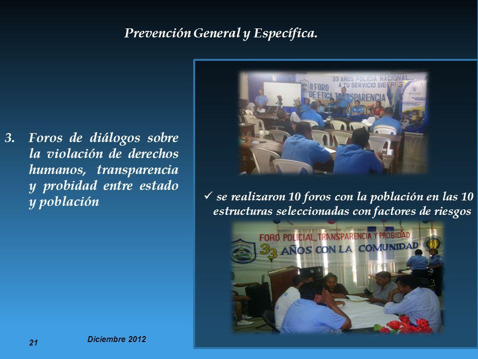 Prevención General y Específica.