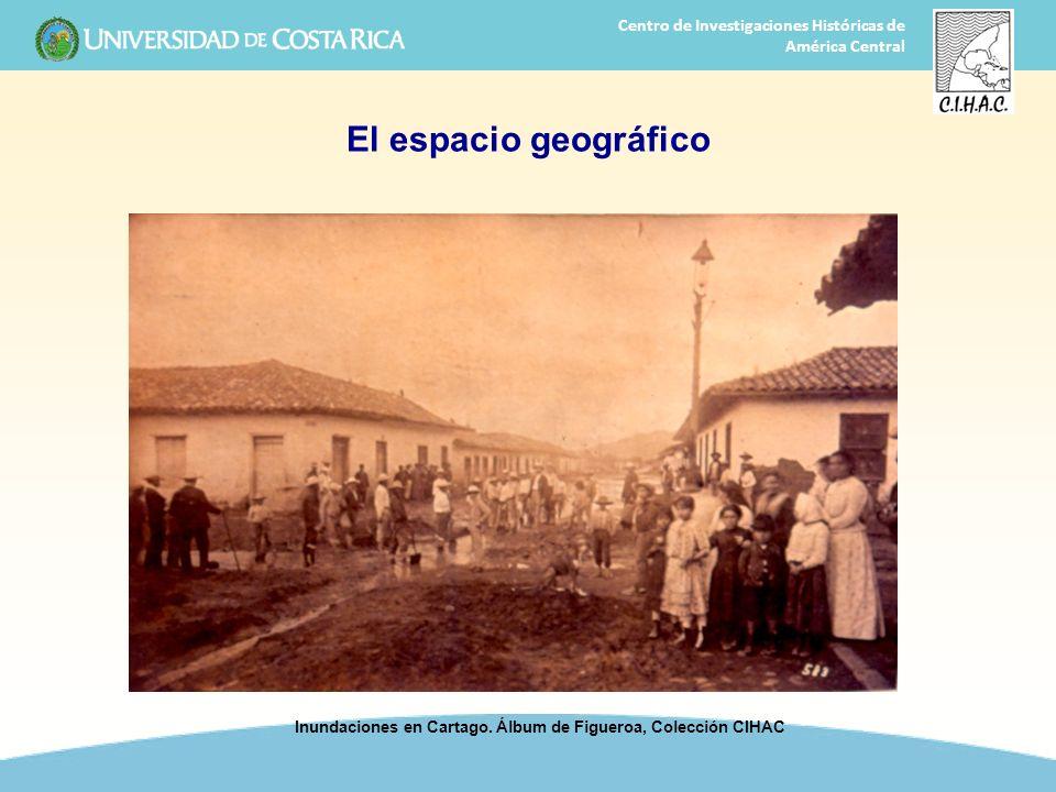 Inundaciones en Cartago. Álbum de Figueroa, Colección CIHAC