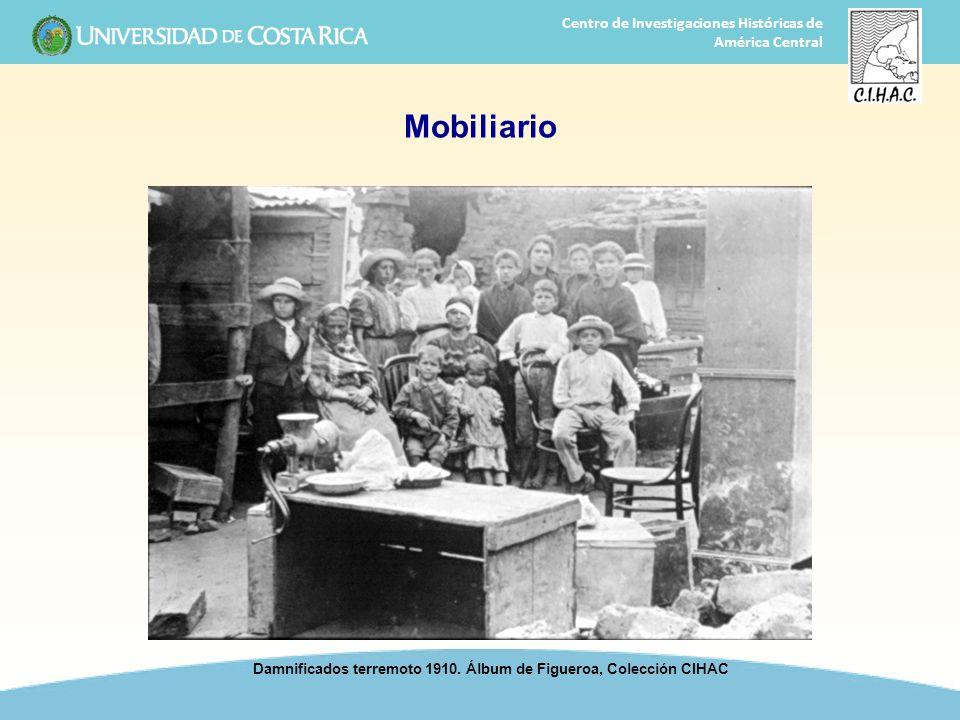 Damnificados terremoto 1910. Álbum de Figueroa, Colección CIHAC