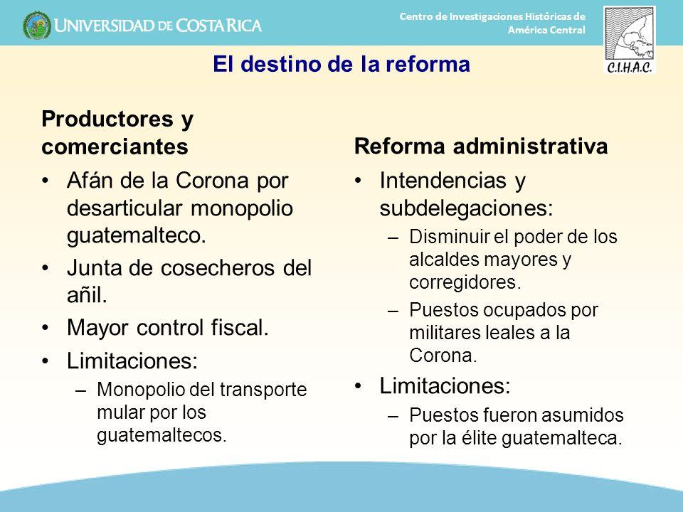 El destino de la reforma