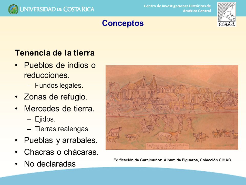 Edificación de Garcimuñoz. Álbum de Figueroa, Colección CIHAC