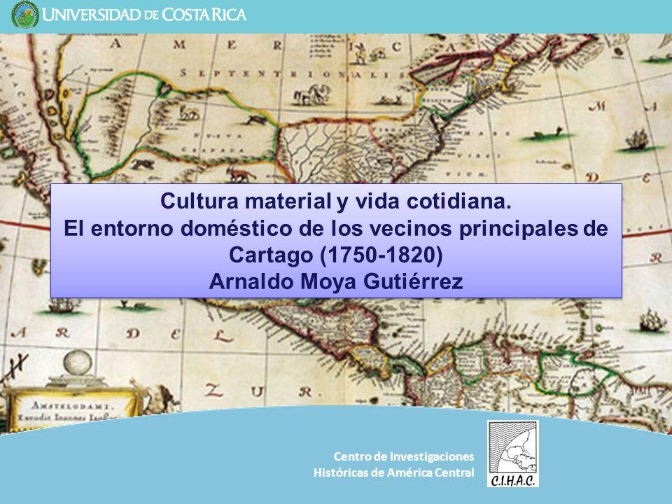 Cultura material y vida cotidiana