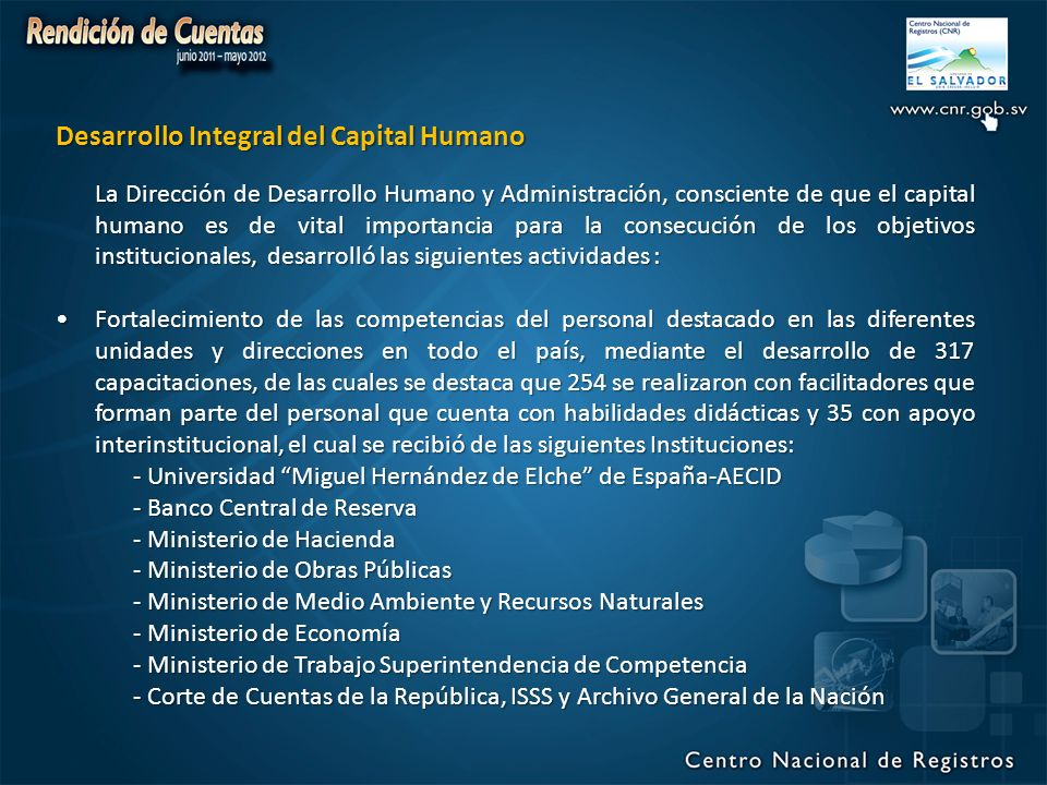 Desarrollo Integral del Capital Humano