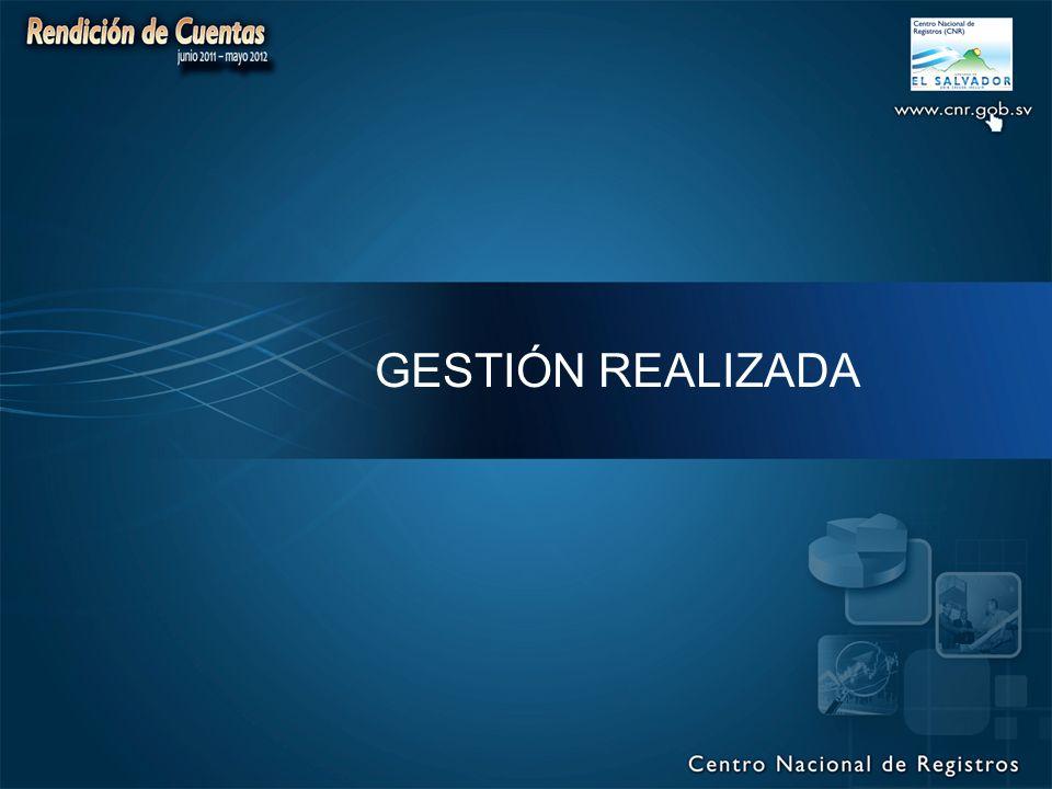 GESTIÓN REALIZADA