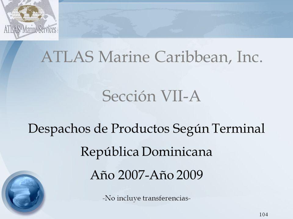 ATLAS Marine Caribbean, Inc. Sección VII-A