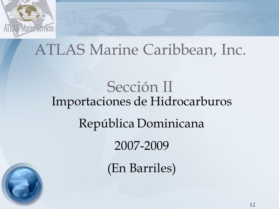 ATLAS Marine Caribbean, Inc. Sección II