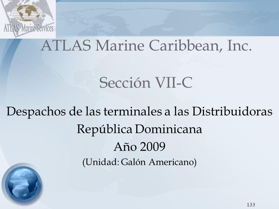 ATLAS Marine Caribbean, Inc. Sección VII-C