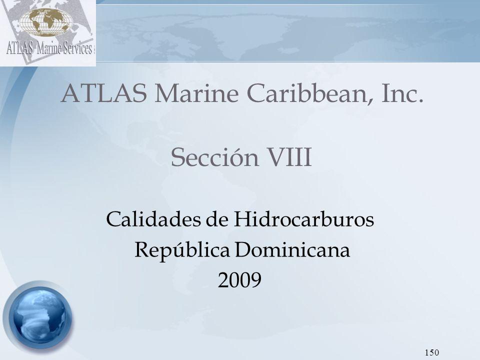 ATLAS Marine Caribbean, Inc. Sección VIII