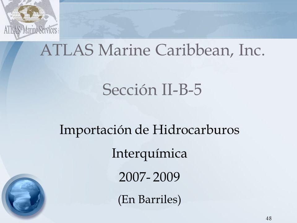 ATLAS Marine Caribbean, Inc. Sección II-B-5