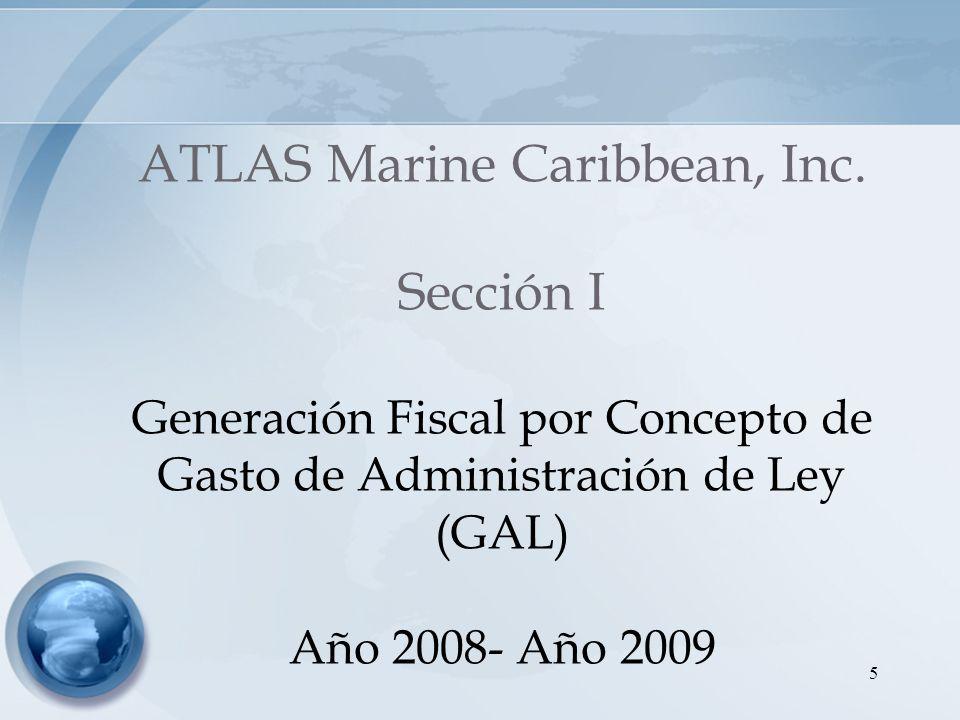 ATLAS Marine Caribbean, Inc. Sección I