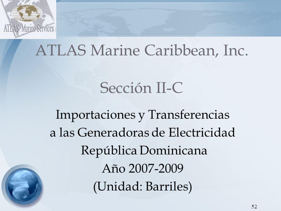ATLAS Marine Caribbean, Inc. Sección II-C