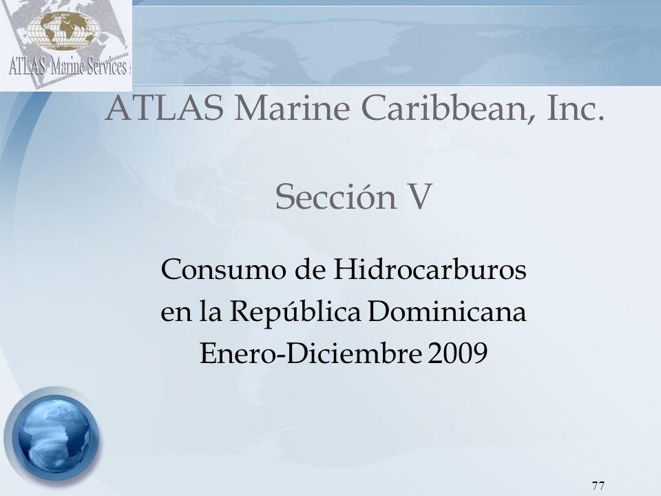 ATLAS Marine Caribbean, Inc. Sección V