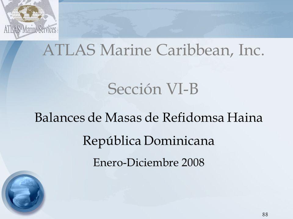 ATLAS Marine Caribbean, Inc. Sección VI-B