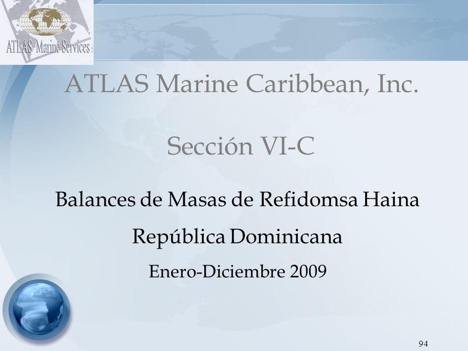 ATLAS Marine Caribbean, Inc. Sección VI-C