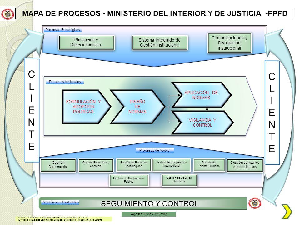 Ministerio del interior y de justicia ppt descargar for Ministerio del interior ubicacion mapa