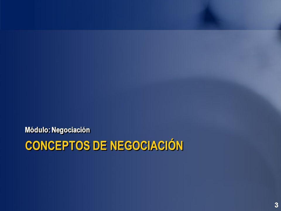 CONCEPTOS DE NEGOCIACIÓN