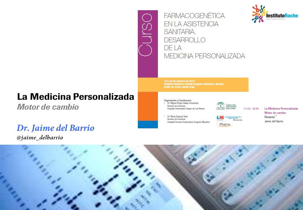 Dr. Jaime del Barrio @jaime_delbarrio