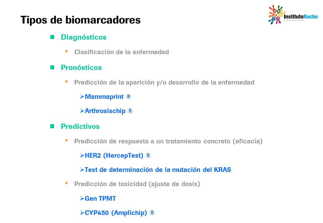 Tipos de biomarcadores