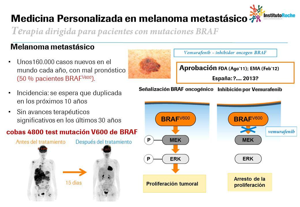 Vemurafenib – inhibidor oncogen BRAF
