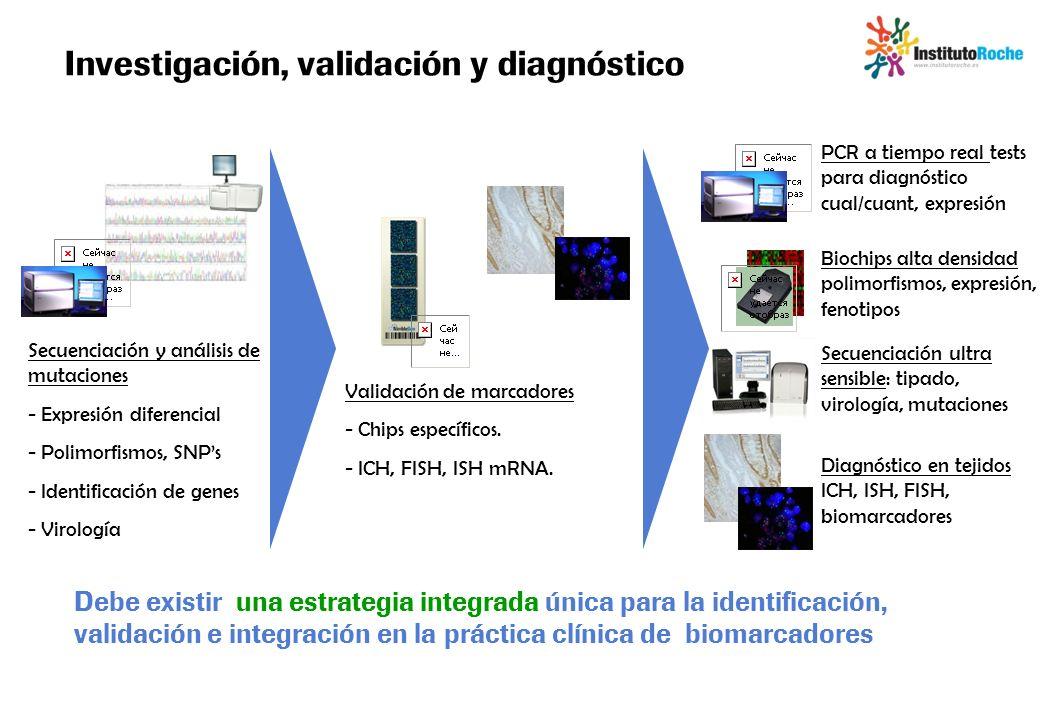 Investigación, validación y diagnóstico