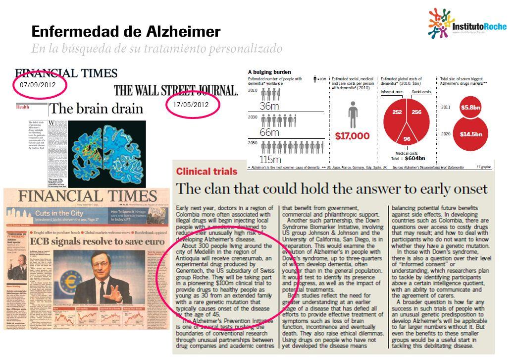 Enfermedad de Alzheimer En la búsqueda de su tratamiento personalizado