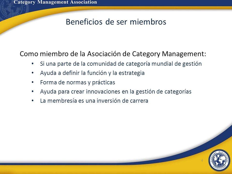 Beneficios de ser miembros