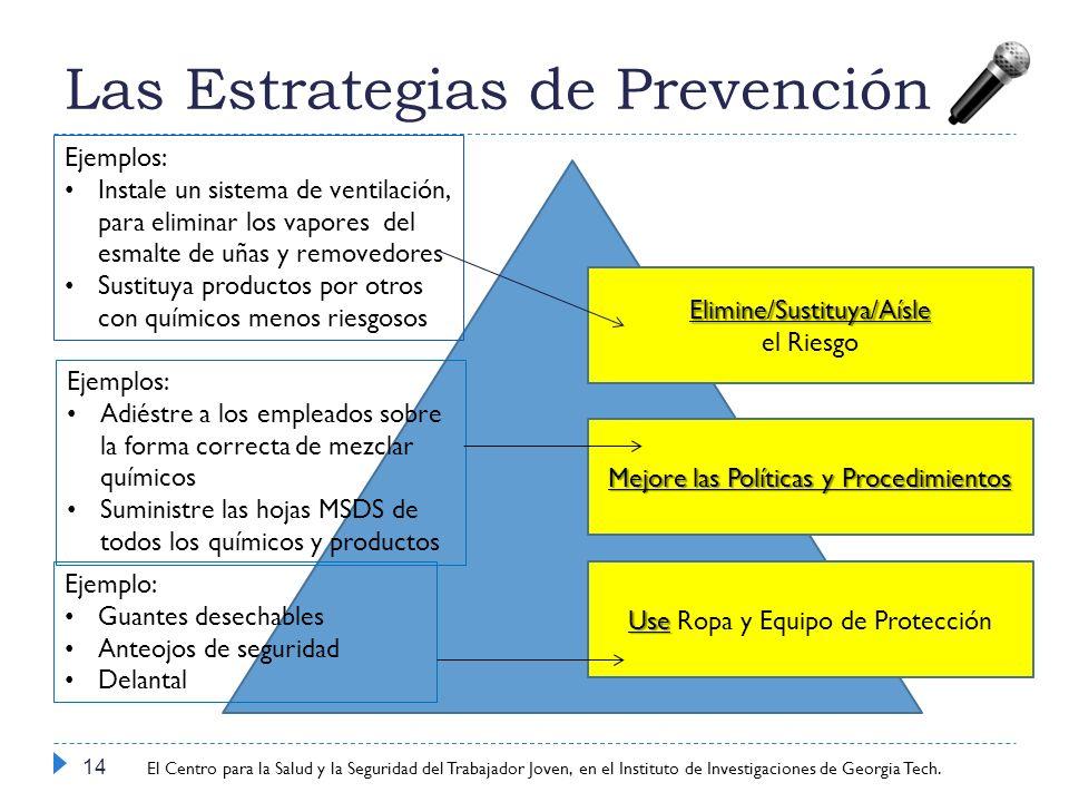 Las Estrategias de Prevención