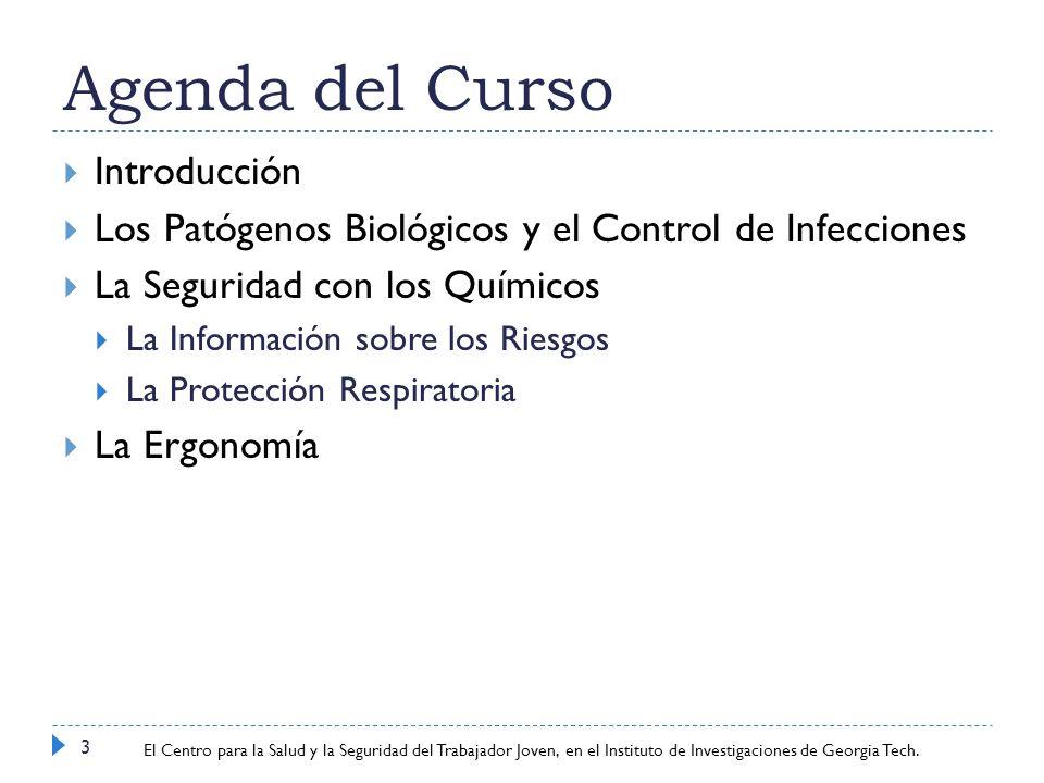 Agenda del Curso Introducción