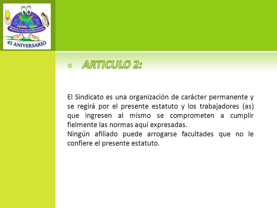 ARTICULO 2: