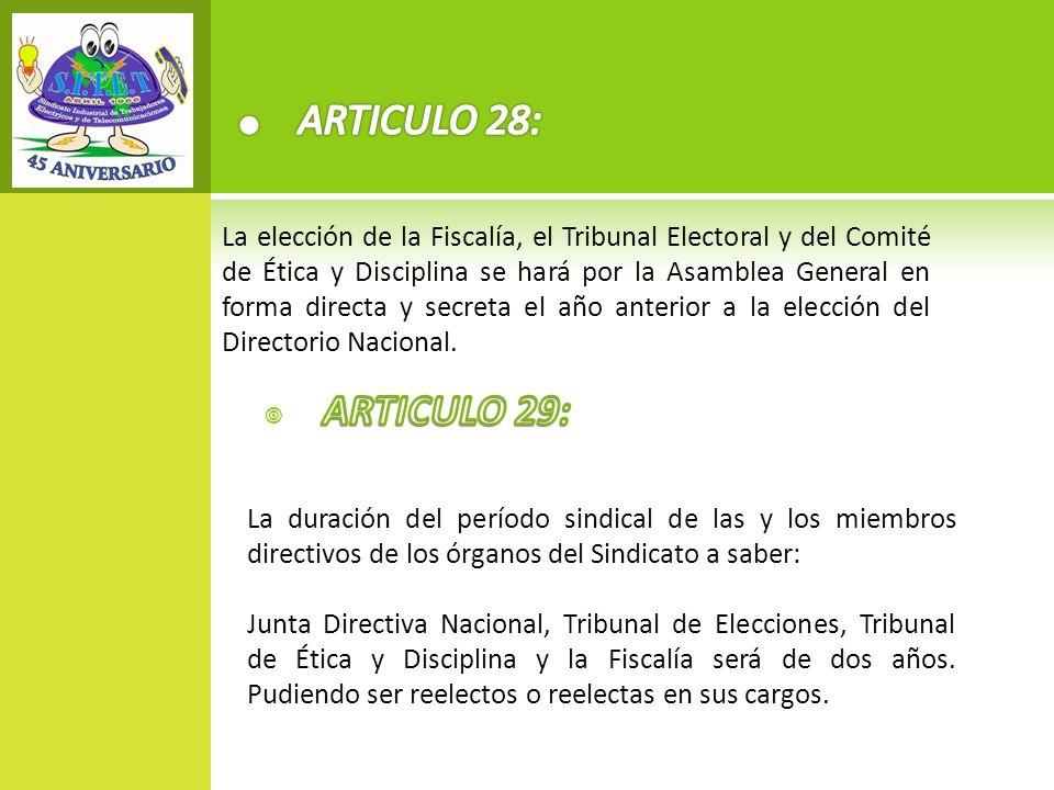ARTICULO 28:
