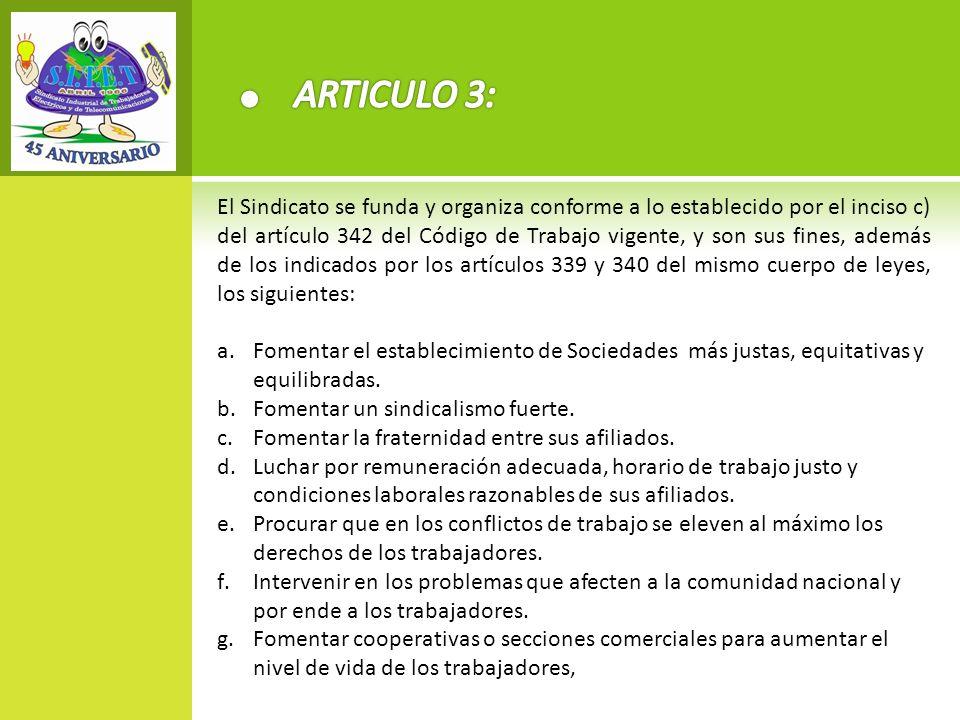 ARTICULO 3: