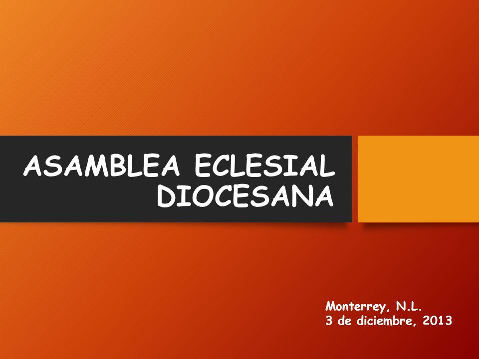 ASAMBLEA ECLESIAL DIOCESANA