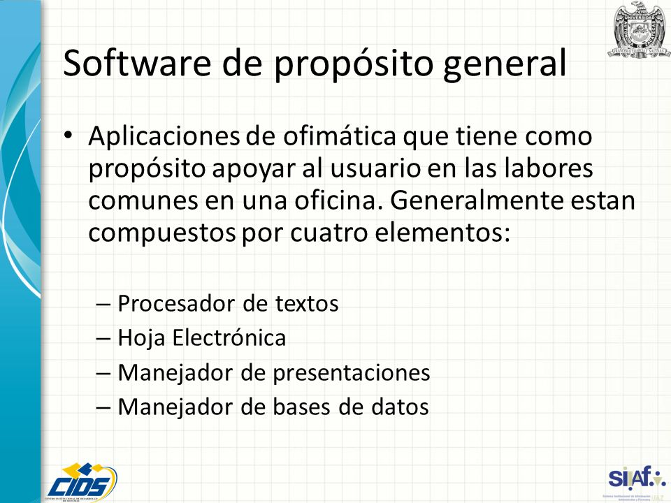 Software de propósito general