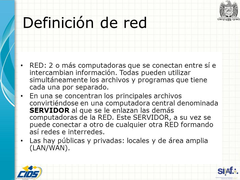 Definición de red
