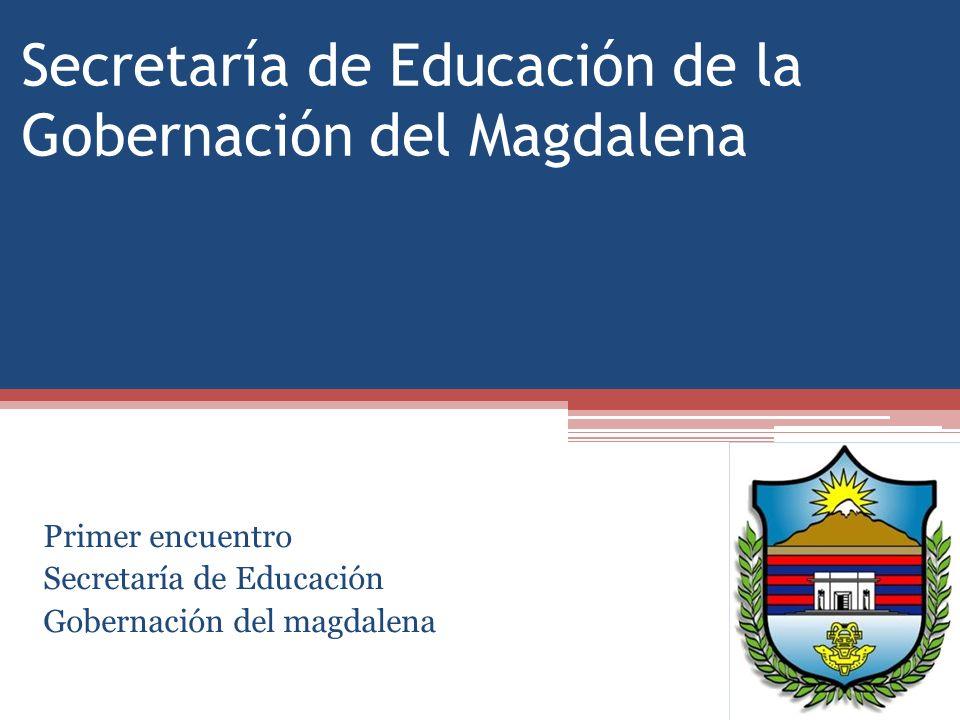 Secretaría de Educación de la Gobernación del Magdalena