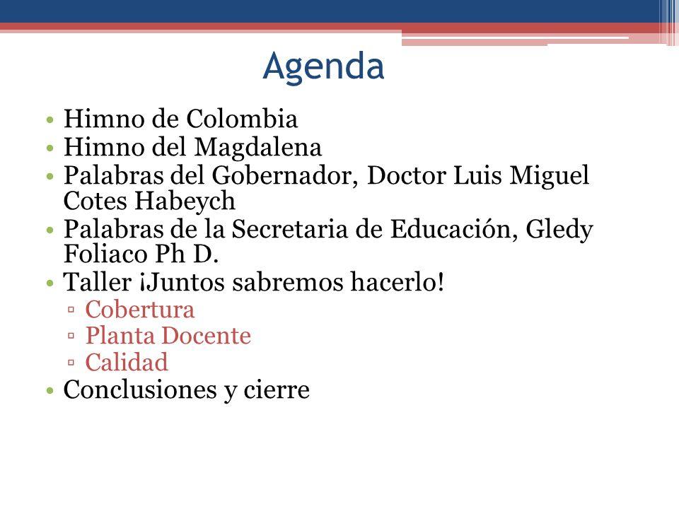 Agenda Himno de Colombia Himno del Magdalena