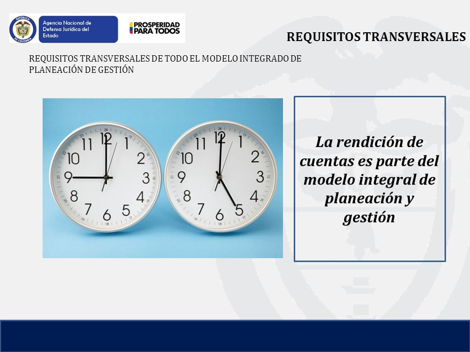 REQUISITOS TRANSVERSALES