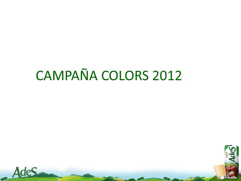 CAMPAÑA COLORS 2012