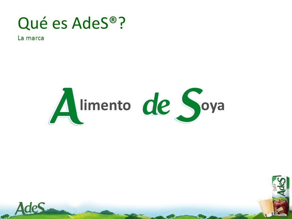Qué es AdeS® La marca limento oya